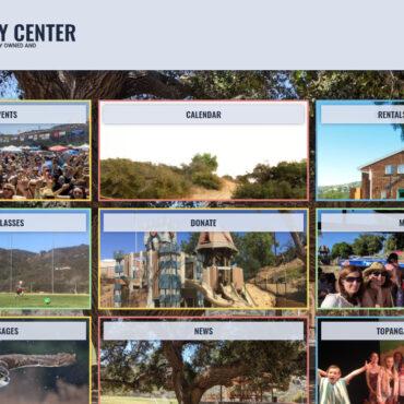 Topanga Community Center Homepage