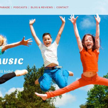 KidzMusic Homepage