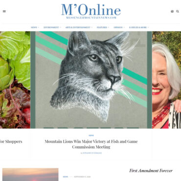 M'Online homepage